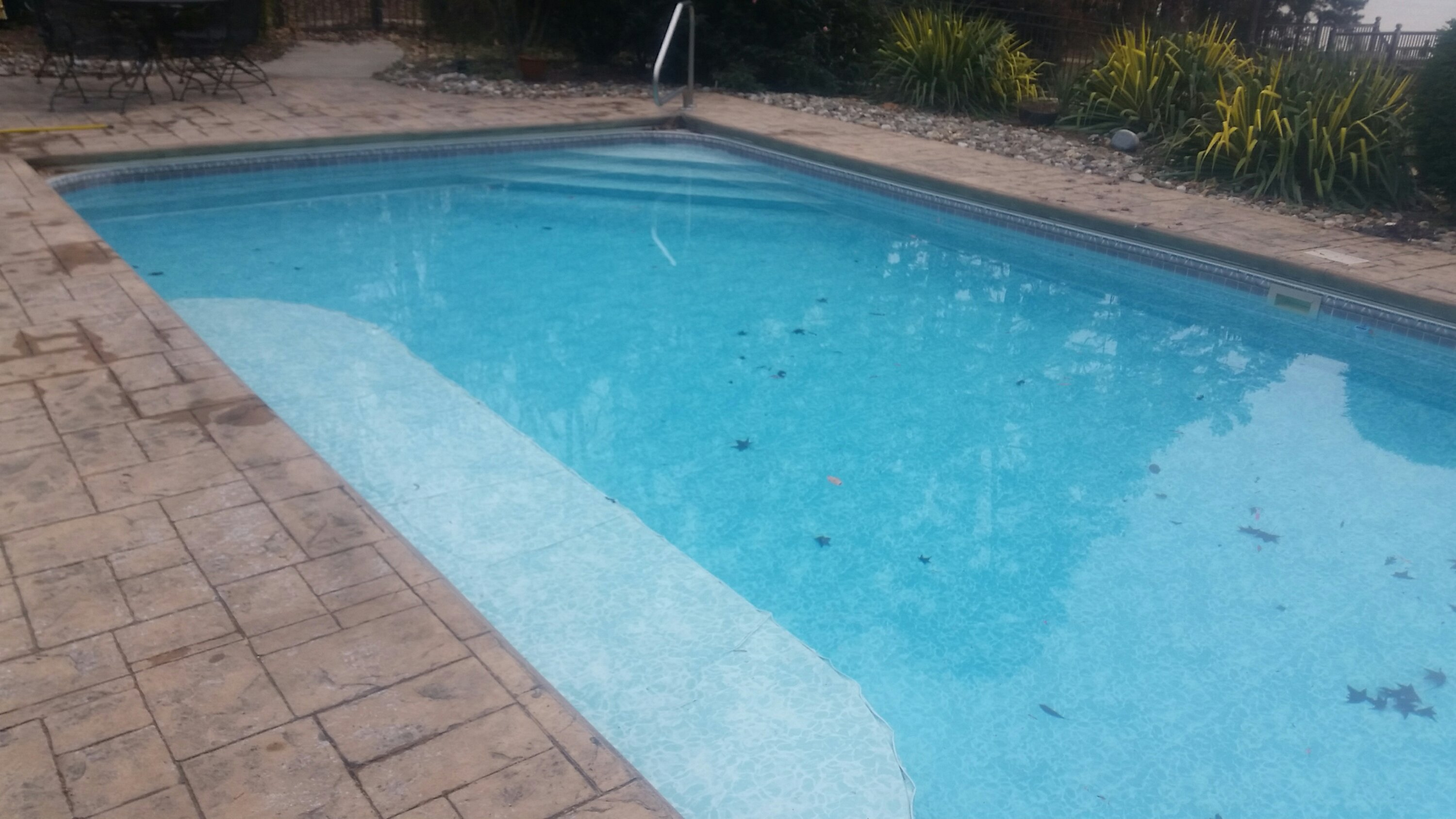 Pool leaking due to freeze damage nps leak detection for Installing pool liner in cold weather